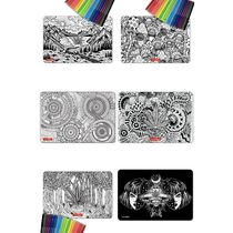 "12"" x 8"" Large Creativity Dab Mat Set By StonerDays *Drop Ship* (MSRP $19.99)"