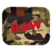 RAW® - Metal Rolling Tray Camo Design - Large (MSRP $15.00)