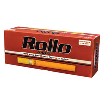 Rollo - Brown Cigarette Tubes King Size - Box of 200 (MSRP $6.00)