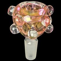 Gold Fumed Studded Bowl 14M - 2 Pack (MSRP $10.00ea)