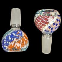 Multi Colored Latticino Bowl 14M - 2 Pack (MSRP $10.00ea)