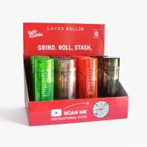 LayzeRoller - Roll & Stash Grinder - Display of 12 (MSRP $15.00)
