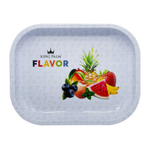 King Palm -  Metal Rolling Tray - Small (MSRP $5.00)