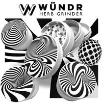 WÜNDR - 63mm 4 Part Matte Grinder (MSRP $40.00)