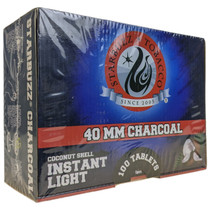 Starbuzz - 40mm Coconut Shell Instant Light Charcoal 100 Tablets