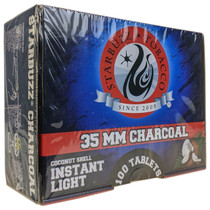 Starbuzz - 35mm Coconut Shell Instant Light Charcoal - 100 Tablets