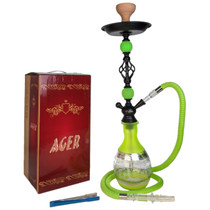 """AGER - 26"""" Hookah 251 - Assorted Colors (MSRP $50.00)"""