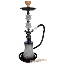 """AGER - 24"""" Hookah 414 - Assorted Colors (MSRP $50.00)"""