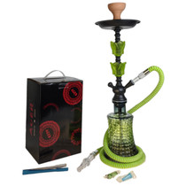 """AGER - 24"""" Hookah 416 - Assorted Colors (MSRP $50.00)"""
