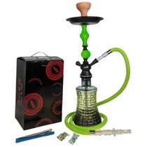 """AGER - 22"""" Hookah 412 - Assorted Colors (MSRP $50.00)"""