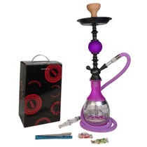 """AGER - 24"""" Hookah 253 - Assorted Colors (MSRP $50.00)"""