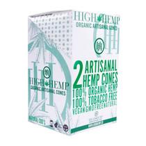 High Hemp - Organic Hemp Artisanal Pre-Roll Cone (2ct) - Display of 15 (MSRP $2.50ea)