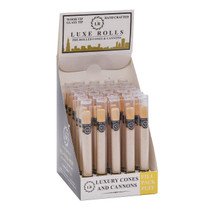 Luxe Rolls - Classic Cannon Pre-Roll Cone (1ct) - Display of 30 (MSRP $2.50ea)