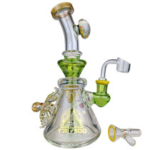 """TATAOO - 9"""" Under The Sea Banger Hanger Water Pipe - with 14M Bowl & 4mm Banger (MSRP $210.00)"""
