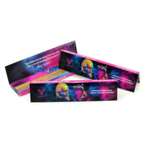 V Syndicate - Hemp Rolling Papers - 24Ct/32 Leaves Per Pack - Einstein Classic