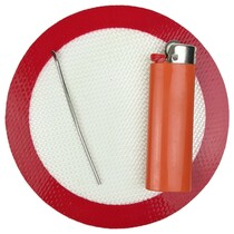 """5"""" Silicone Round Mat - Single (MSRP $5.00)"""