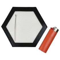 """3"""" Silicone Hexagon Mat - Single (MSRP $5.00)"""