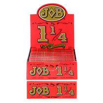 JOB - Slow Burning Orange Rolling Papers 1¼ Refill - Box of 100 (MSRP $2.00ea)