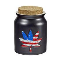 Roast & Toast Stash Jar - Leaf Design (MSRP $12.00)
