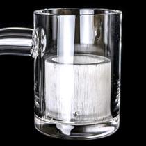 25mm Premium Flat Top White Inner Bowl Quartz Banger (MSRP $40.00)