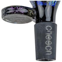 Cheech Glass - Dichroic Cobalt Bowl 14M (MSRP $40.00)