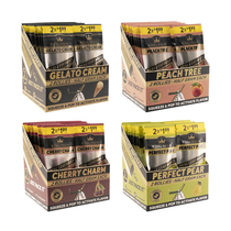 King Palm - Squeeze and Pop Rollie Pre-Roll Cone - Pack of 2 - Display of 20 (MSRP $2.00ea)