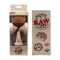 RAW® x No Jumper - Kendama with Toke Hole (MSRP $50.00)