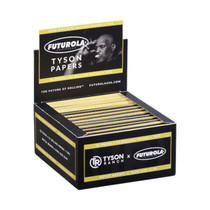 Tyson Ranch® X Futurola  - Rolling Papers King Size Slim with Tips (33ct) - Display of 24 (MSRP $4.25ea)