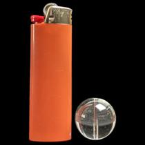 25mm Terp Flow Carb Cap - Clear - 2 Pack (MSRP $6.00ea)