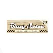 Blazy Susan® - Unbleached 1¼ Rolling Papers (50ct) - Display of 50 (MSRP $2.00ea)