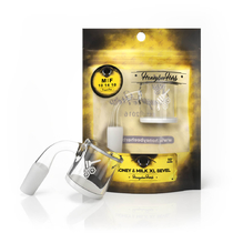 Honey & Milk XL Bevel 90° Quartz Banger By Honeybee Herb *Drop Ship* (MSRP $34.99)