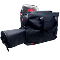 RAW® - RAWK & Roll All Night Smell Proof Tote Bag (MSRP $180.00)