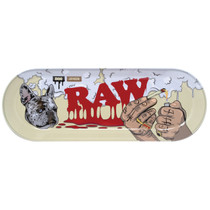 RAW® x BOO Johnson - Skate Deck Metal Rolling Tray (MSRP $15.00)