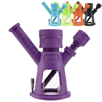 Ooze - Hyborg 4-in-1 Silicone Glass Water Pipe & Nectar Pipe (MSRP $79.99)