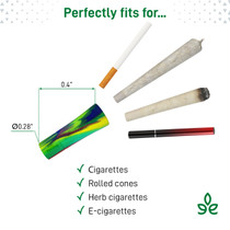 Cough-Less Smoothing and Cooling Filter Tips By Weedgets *Drop Ship* (MSRP $10.99)
