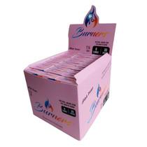 Burners - Pink 1¼ Pre-Roll Cone (6ct) - Display of 30 (MSRP $3.00ea)