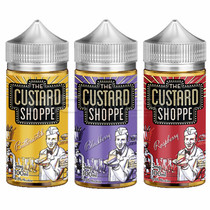 The Custard Shoppe By Jam Monster E-Liquid 100ML (MSRP $27.99)