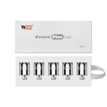 Yocan - Evolve PLUS Dual Coil Quartz Replacement - 5 Pack (MSRP $20.00)