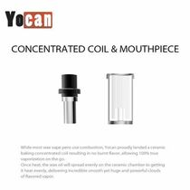 Yocan - Explore Concentrated Coils with Mouthpiece - Pack Of 5 (MSRP $10.00)