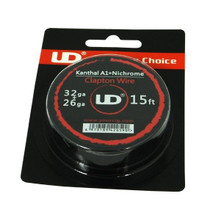 UD - Clapton Wire (Kanthal A1 + Nichrome 32g + 26g) 15ft Spool