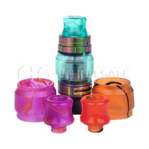 Smok Tank Assorted Colors Glass and Tip Kit Pack of 5 (MSRP $10.00ea)