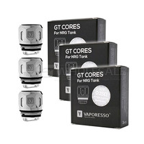 Vaporesso GT Core Coils For NRG Tank Pack Of 3 (MSRP $11.99-$14.99)