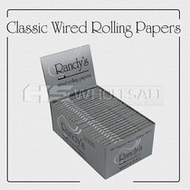 Randy's Classic Wired Papers (25 Packs Per Box) *Drop Ship* (MSRP $52.99)