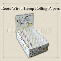 Randy's Roots Hemp Wired Papers (25 Packs Per Box) *Drop Ship* (MSRP $59.99)