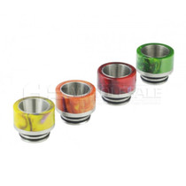 810 Style SS Epoxy Resin Drip Tip - Assorted Pack Of 5 (MSRP $5.00ea)