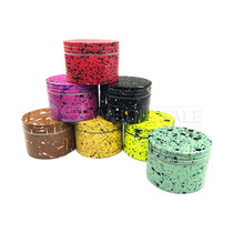 50mm 4Part Grinder Marble Colors - Assorted Individual (MSRP $6.00)
