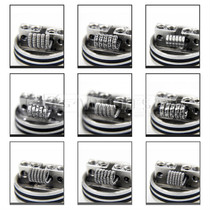 Kanthal A1 Prebuilt Coils Kit 9 Styles 80 Piece By AKATTAK *Drop Ship* (MSRP $23.99)