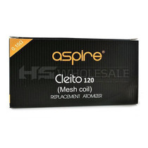 Aspire - Cleito 120 Coils - 5 Pack (MSRP $25.00)