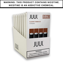 JUUL Pods 3% 4-Pack | Display of 8 (MSRP $15.99ea)