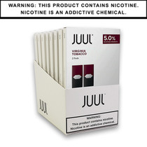 JUUL Pods 5% 2-Pack | Display of 8 (MSRP $9.99ea)